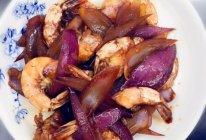葱头炒虾的做法