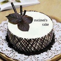 ——超简单慕斯蛋糕【巧克力围边】#九阳烘焙剧场#的做法图解23