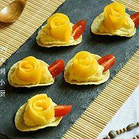 #浪漫樱花季#芒果红薯酸奶脆的做法图解11