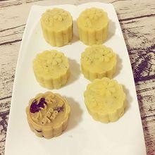 低糖绿豆糕(香芋豆沙馅、蔓越莓馅、豆沙馅、绿茶味)