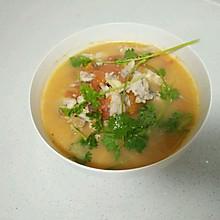 番茄鱼片汤