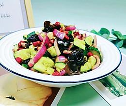 经典凉拌菜,黄瓜木耳,好吃停不下的做法