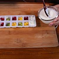 迎接夏天来临的第一口冰 酸奶水果冰的做法图解5