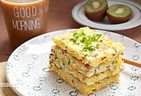 香菇鸡蛋米饭饼#金龙鱼外婆乡小榨菜籽油#的做法