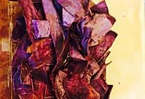 健康零食紫薯片的做法