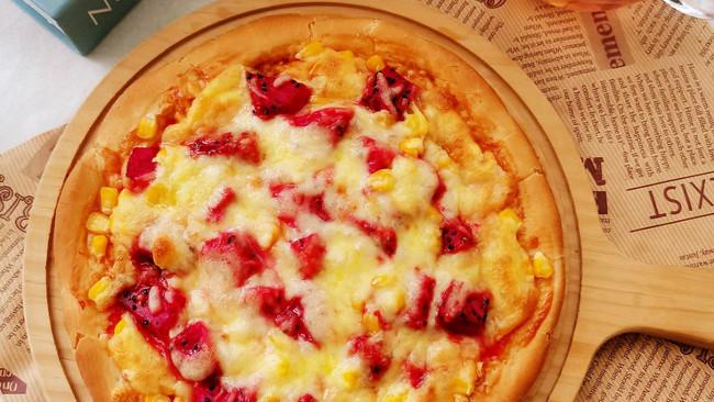 #安佳马苏里拉芝士挑战赛#水果玉米披萨的做法
