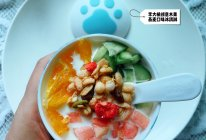 李大橘创意水果燕麦牛奶口味冰淇淋的做法