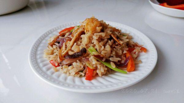 豉油杂蔬鸡肉饭的做法