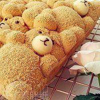 萌你一脸的泰迪熊挤挤面包的做法图解18