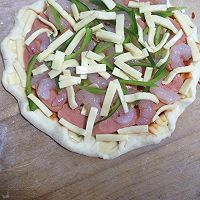 电饼档做披萨的做法图解4