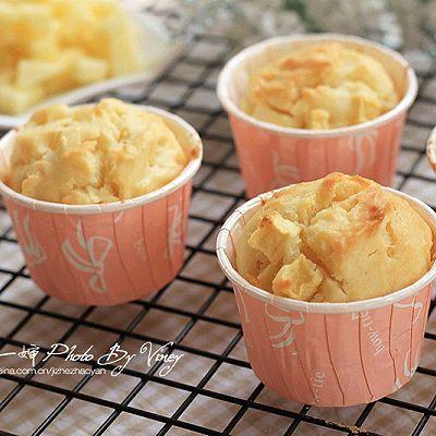 苹果酸奶纸杯蛋糕