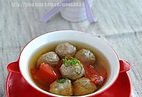 番茄牛肉丸汤的做法