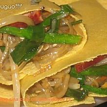 煎饼卷炒杂菜