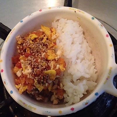 【宝宝1+辅食】豆腐番茄蛋的做法 步骤9