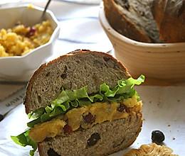 红薯沙拉&三明治的做法