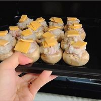 芝士培根芋泥烤口蘑—快手小食系列的做法图解17