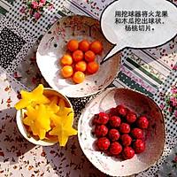 6寸水果奶油花篮裱花蛋糕(附戚风蛋糕制作)的做法图解10