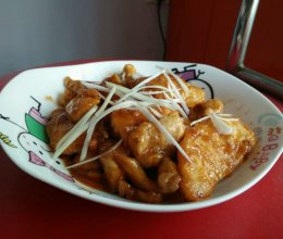 锅包肉(鸡肉)的做法