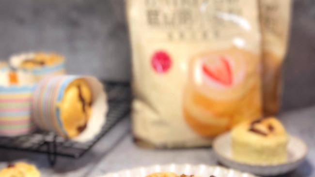 蜂蜜桂花戚风蛋糕的做法