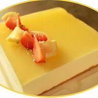 菠萝椰奶芝士蛋糕