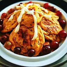 西红柿芝麻甜饼