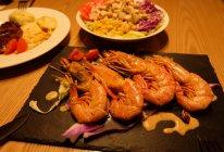 煎阿根廷红虾的做法