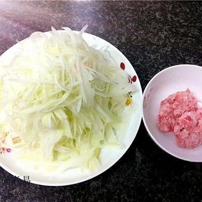 小炒木瓜丝的做法 步骤2