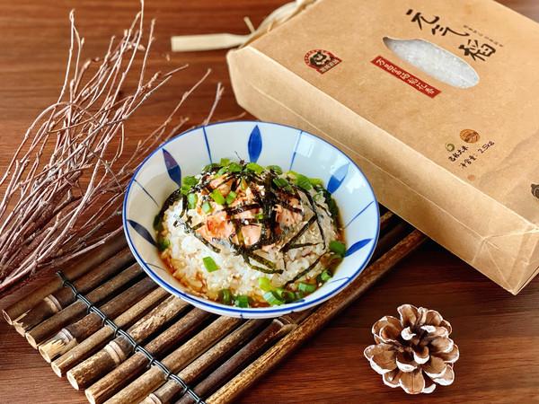 日式三文鱼茶泡饭