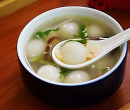 滋味咸汤圆汤的做法