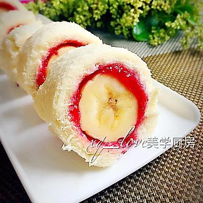 吐司香蕉卷