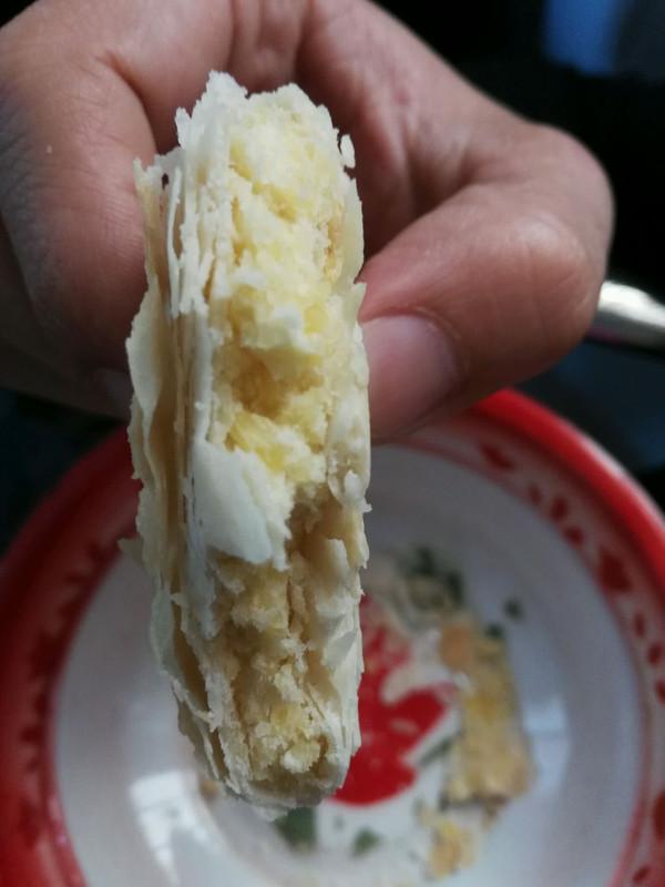 酥脆绿豆饼的做法