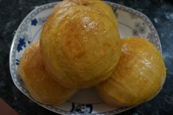 香酥菠萝包的做法
