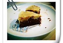双重的味觉享受------芝士布朗尼蛋糕的做法