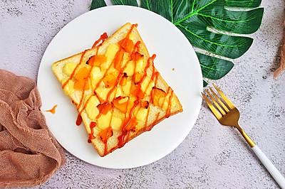 #硬核菜谱制作人#南瓜吐司披萨