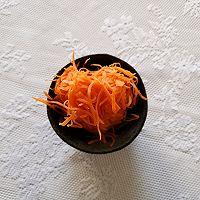 开胃小凉菜丨拌红萝卜丝的做法图解5