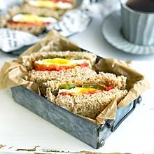 #秋天怎么吃#燕麦五谷三明治
