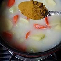 咖喱鲜虾牡蛎锅的做法图解7