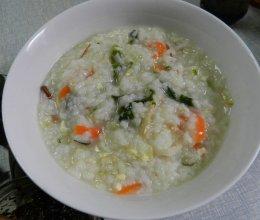 早餐蔬菜粥的做法