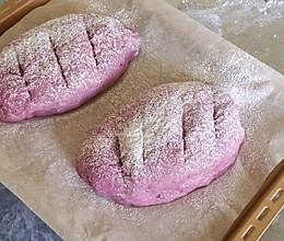 紫薯坚果欧包的做法