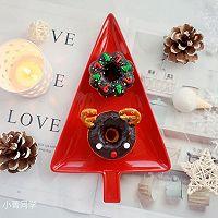 甜美可爱的圣诞甜甜圈#安佳烘焙学院#的做法图解17