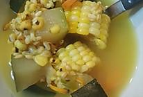 冬瓜黄芪虫草花玉米红萝卜祛湿补气滋阴养生汤的做法