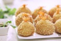 香脆土豆凤尾虾球的做法