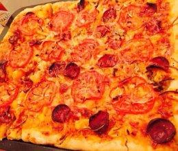 美式夏威夷披萨的做法