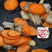 儿菜胡萝卜炒肉片的做法图解5