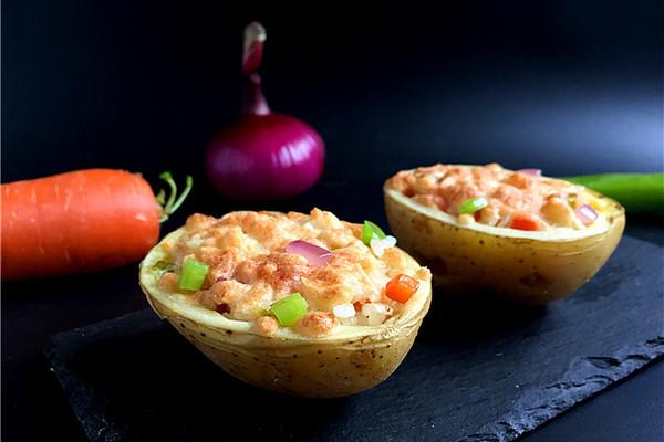 土豆焗饭#美的烤箱#的做法
