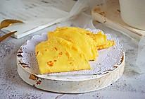 孩子特别爱吃的鸡蛋饼,简单快手的营养早餐主食!的做法