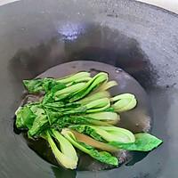 #仙女们的私藏鲜法大PK#口蘑酿肉丸的做法图解7