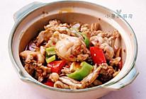 泡椒牛蛙砂锅煲的做法