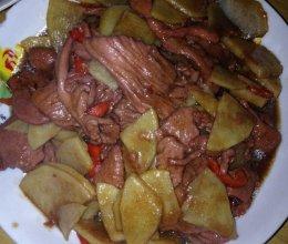 牛肉片炒土豆的做法