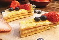 零失败水果脆饼——手抓饼版的做法